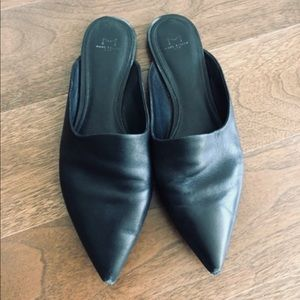 Marc Fisher Leather Mules